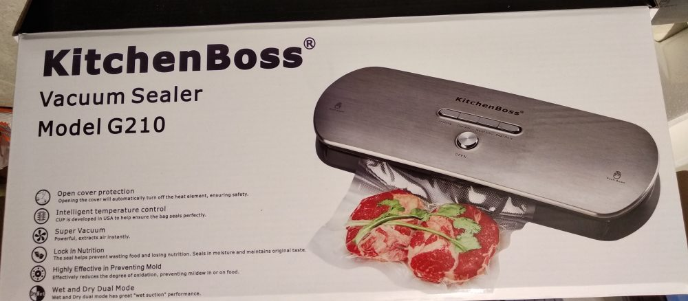 Macchina Sottovuoto Professionale KitchenBoss G200